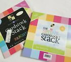 NEW Lot 2 DCWV Spring  Bright Stack 12 x 12 Cardstock Paper Pad Scrapbooking