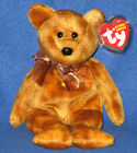 TY GRATEFULLY the BEAR BEANIE BABY - MINT with MINT TAGS