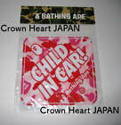 A BATHING APE PVC CHILD IN CAR STICKER Pink ABC Camo Auth from BAPE JAPAN