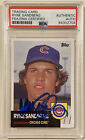 Ryne Sandberg Cards, Rookie Cards and Autographed Memorabilia Guide 38