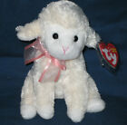 TY FLEECIA the LAMB BEANIE BABY - MINT with MINT TAGS