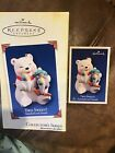 Hallmark 2005 TWO SWEET! 5th In Snowball And Tuxedo Series New Keepsake Ornament