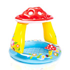Intex 40 x 35 Mushroom Baby Pool for Ages 1 3 Inflatable Water Play