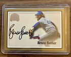 BRUCE SUTTER 2000 FLEER GREATS OF THE GAME AUTO BRAVES AUTOGRAPH