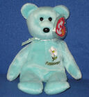 TY MASSACHUSETTS MAYFLOWER STATE FLOWER BEANIE BABY - MINT with MINT TAG