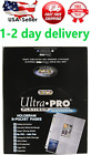 Ultra Pro 9-Pocket Trading Card Pages Platinum Series100 Page Free Shipping