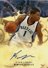 Kyle Lowry 2008-09 SP Rookie Threads Scripted in Time #SITKL AUTOGRAPH RARE