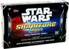 2021 Topps Star Wars Signature Series Factory Sealed Hobby Box 1 Autograph