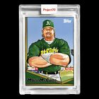 Mark McGwire Signs Autograph Deal with Topps 16