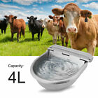 Cattle Water Bowl Stainless Steel Float Valve Water Trough Bowl Water Feeder