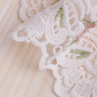 26M Lace Trim Embroidered Floral Mesh Tulle Fringe Sewing Craft for Curtain Chic