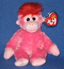 TY CHARMER the MONKEY BEANIE BABY - MINT with MINT TAGS