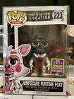 Funko Pop! Five Nights At Freddy's Jumpscare Funtime Foxy #223 SDCC,W Protector.
