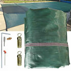16X32 FT Safety Cover Rectangle Winter In Ground Swimming Pool Mesh Cover
