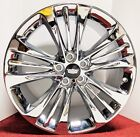 4 SUPER RARE Cadillac OE TRIPLE CHROME PLATED 20 X 85 WHEELS FIT CT6 CTS XTS