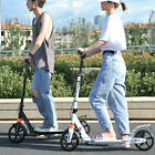 Foldable Kick Scooter Adjustable Height 20cm Portable Adult Child Scooter