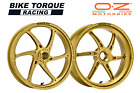 OZ Gass RS A Gold Forged Alloy Wheels to fit Ducati 1000 Paul Smart ALL