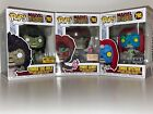 Funko Pop Marvel Zombies Lot of 3 Mystique, Gambit, She-Hulk Exclusives *Ship WW