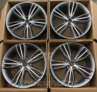 20 STAGGERED STYLE ALLOY WHEELS RIMS FOR JAGUAR XJL XJ 20X9 20X10 SET OF 4