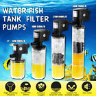 Submersible Aquarium Internal Pump and Filter for Fish Tank A V