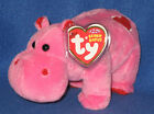 TY HUGAMUS the HIPPO BEANIE BABY - NEW - MINT with MINT TAGS