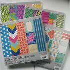 Lot 4 x 48 Sheet Cardstock 12x12 Paper Pads 192 Sheets 96 Different Designs NEW