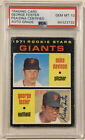 1971 Topps GEORGE FOSTER Signed Rookie Baseball Card PSA DNA Auto Grade 10