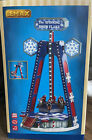 LEMAX The Spinning Snowflake NEW Sights Sounds Christmas Village Carnival Ride