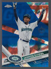 2017 Topps Chrome Baseball Complete Set Sapphire Edition Cards 7