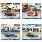 Hot Wheels 2021 Car Culture Team Transport Case L Set of 4 Trucks FLF56 956L