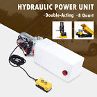 8qt 12V Double Acting Hydraulic Pump Power Unit for Scissor and Telescopic Lifts