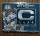 2012 Topps Football NFL Captain Patch Relic Cards Visual Guide 55