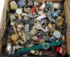 Huge Vintage Now Watch Lot 22 LBS Pounds Mixed Parts Repair Women Men Watches