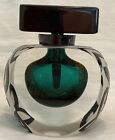 Exquisite Limited Edition Correia Art Glass Signed Cameo Perfume Bottle