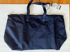NWT Tumi Just In Case Tote Voyageur Blue Nylon bag with Leather Trim Packable