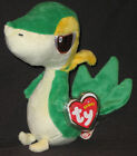 TY SNIVY the POKEMON BEANIE BABY - MINT with MINT TAGS -  UK EXCLUSIVE 6 INCH