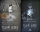 Ransom Riggs SIGNED Miss Peregrine's Home for Peculiar Children 1st Ed + Photos!