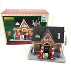 Lemax Route 66 Vintage Gas Station Lighted Village Building House 2014 with Box
