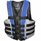Life Jacket Vest Adult PFD Type III Fully Enclosed US Coast Guard Approved SAFE
