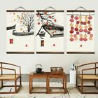 Chinese Native House Art Wall Style Canvas Home Decorations Paintings  Posters