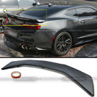 For 16 21 Chevy Camaro Matte Black 3 post ZL1 Style ABS Rear Trunk Lid Spoiler
