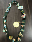Disney Catalog 22 Pins Collection On Tinker Bell Pin Trading Lanyard LE 1000
