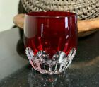 Waterford Mixology Talon Ruby Cut 3 5 8 Double Old Fashioned Glass 4 Available