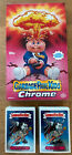 2013 GARBAGE PAIL KIDS CHROME 1 110 CARD SET + LOST + HOBBY BOX + 24 WRAPPERS