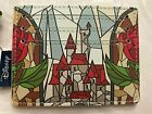 Loungefly Beauty and the Beast Stained Glass Card Holder Cardholder NWT Sold Out