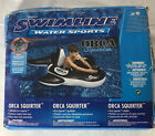 Swimline Inflatable Ride On ORCA SQUIRTER Pool Float W Endless Water Gun NEW