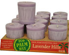 Essential Oil Votive Candles by Aloha Bay 12 Candles Lavender Hills