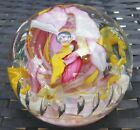 WHITEFRIARS FULL LEAD CRYSTAL MILLEFIORI MAGNUM PAPERWEIGHT RAY ANNENBERG 77 80