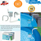 Swimming Pool Deluxe Surface Skimmer Wall Mount Basket Above Ground Debris