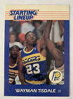 1988 Wayman Tisdale Indiana Pacers #23 Kenner Basketball Starting Lineup Card